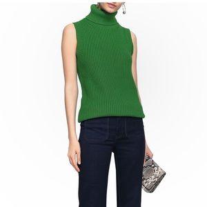 NWT Michael Kors Ribbed Turtleneck Sweater Size L